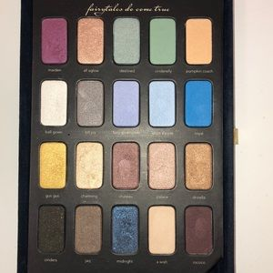 Sephora Makeup - Sephora Disney Cinderella 20x eyeshadow booklet